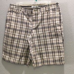 3/$15 or 1/$7 Dockers plaid shorts